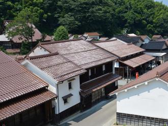 石州瓦の屋根