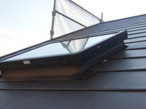 天窓設置されている屋根