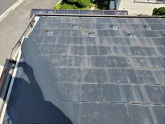 スレート屋根に苔・藻・カビが発生