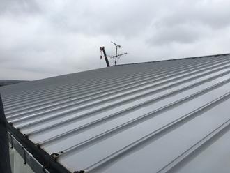海の反対側屋根