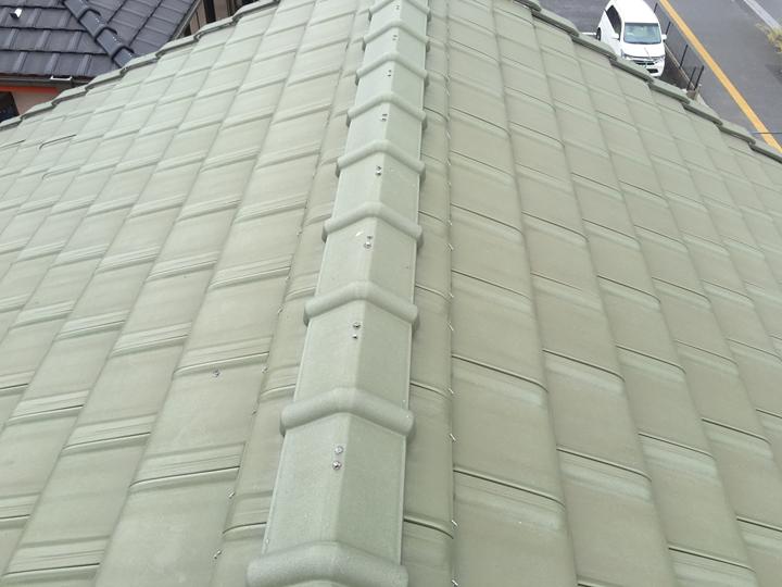 瓦調の金属屋根、ディーズルーフィング