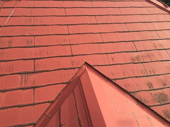 スレート屋根の調査を実施