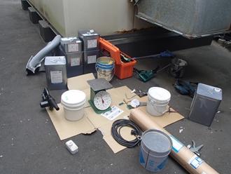 ウレタン防水工事の準備