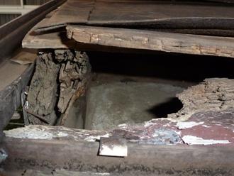 屋根内部の劣化