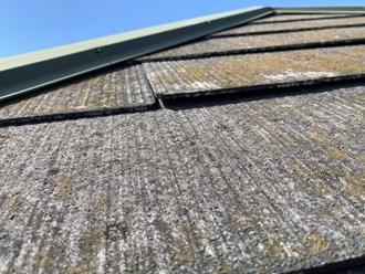 スレート屋根の反り