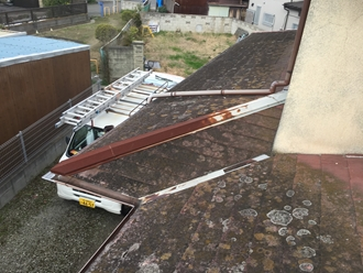 屋根カバー工事が出来る状態