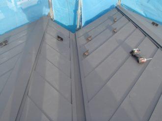 スーパーガルテクトてせ屋根カバー工法