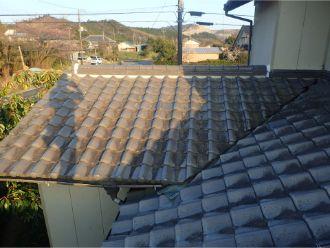 1階屋根完工