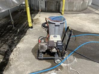 高圧洗浄機、高圧洗浄