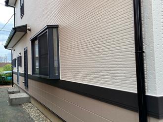 ナノコンポジット、外壁塗装工事完了