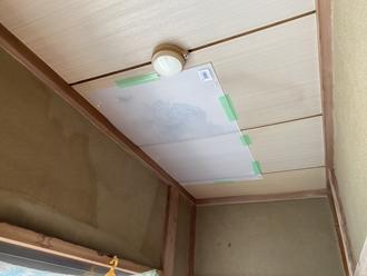 雨漏り、目透かし天井