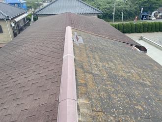 コロニアル屋根の破損、雨漏り