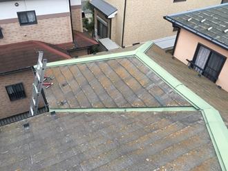 スレート屋根の苔やカビ