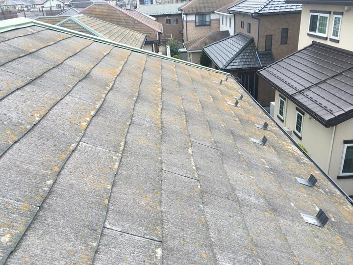 スレート屋根の苔やカビ、塗装を行いましょう