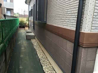 外壁サイディングの調査を実施