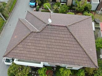 火災保険を適用した屋根復旧工事を行ったS様邸の屋根