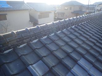災害復旧後の屋根