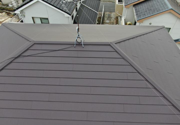 屋根葺き替え後はドローンで撮影しました.jpg