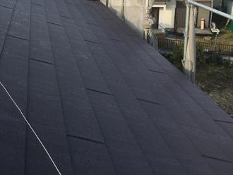 新規屋根材を葺いていきます