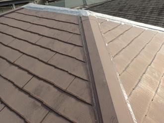 台風による屋根の状態