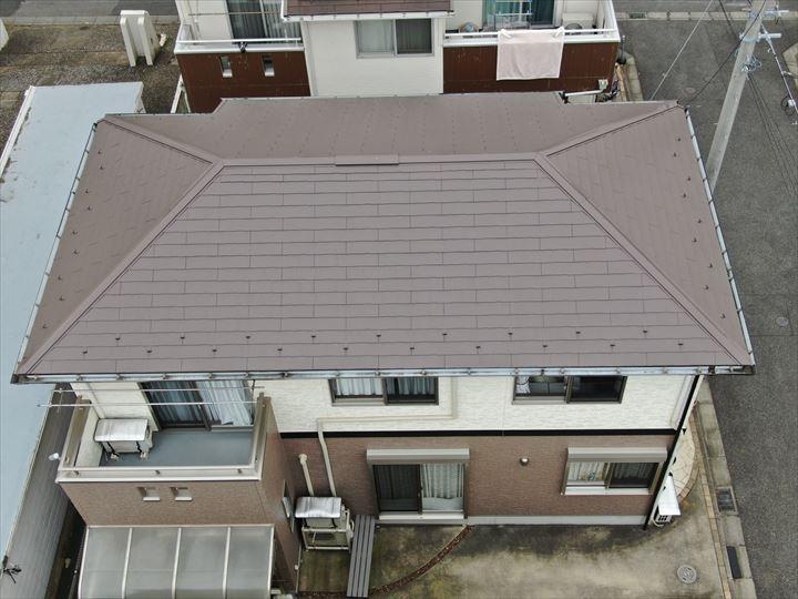 屋根外壁塗装工事が完了