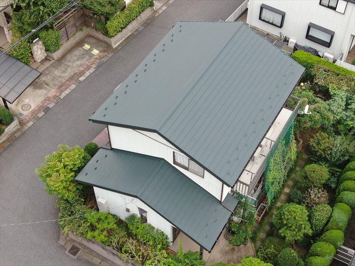 千葉市美浜区にて屋根葺き替え工事が完了