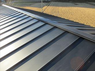 緩勾配の屋根