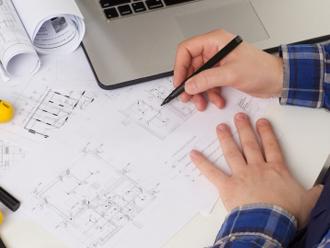 住宅の図面を用いた屋根面積の求め方