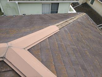 令和元年房総半島台風の影響で棟板金が飛散し落下