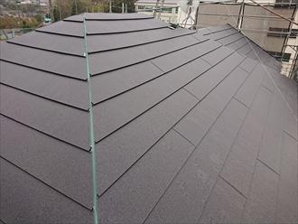 金属屋根 様々な形状の屋根に施工することが可能