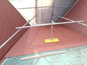 コロニアル葺き、大屋根