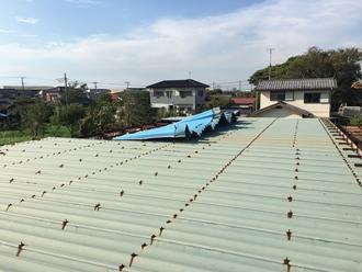 折半屋根の調査