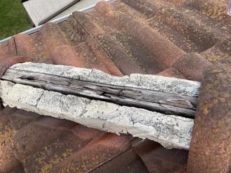 貫板の劣化