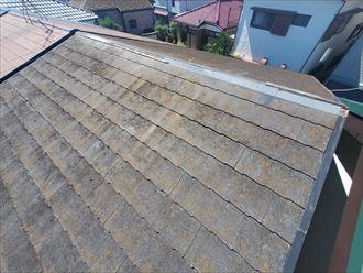 鎌ケ谷市東道野辺にて令和元年房総半島台風の被害で棟板金が飛散