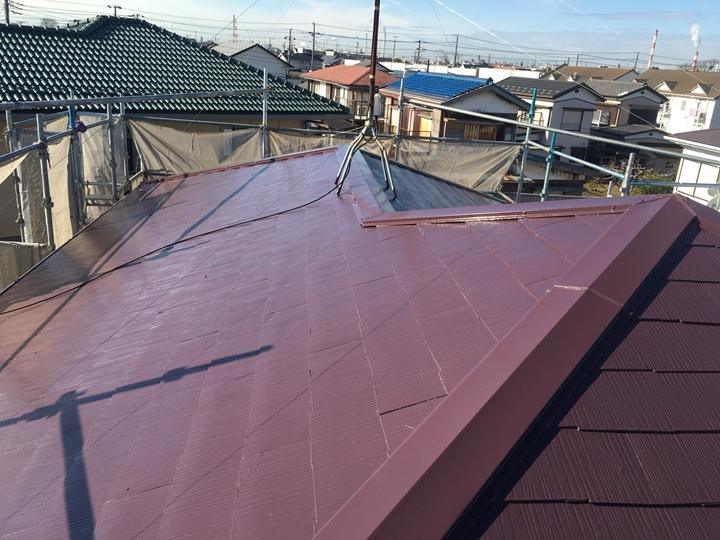 サーモアイSi屋根塗装工事