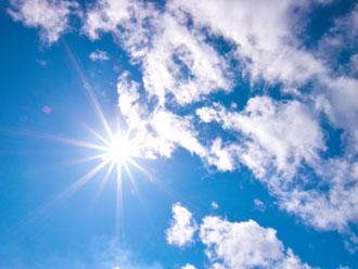 スーパーガルテクトは紫外線を断熱・遮熱します