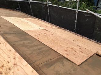 野地板設置