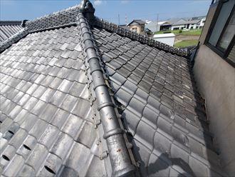 屋根部分葺き直し工事が完了