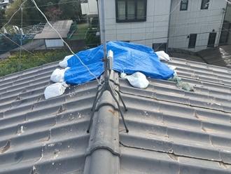 棟の台風被害