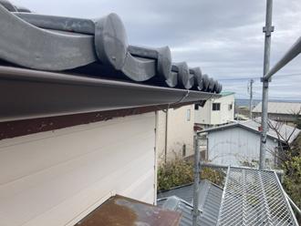 設置した雨樋