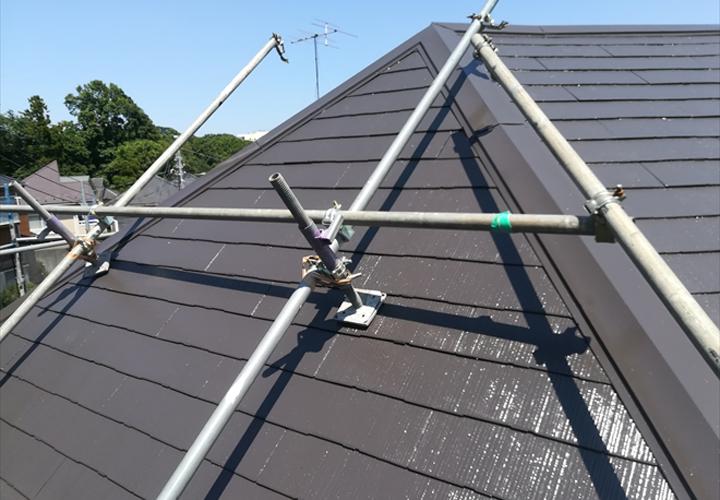 急勾配屋根の工事での注意点
