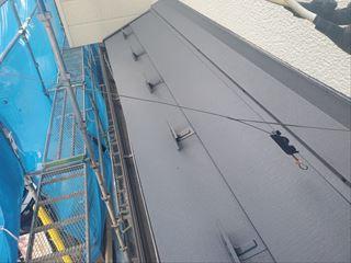 屋根カバー工事が完了致しました