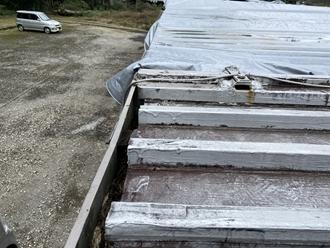 金属屋根の調査