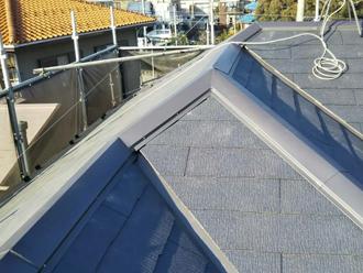 火災保険を適用した屋根復旧工事が完了
