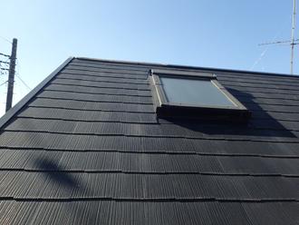 屋根にのぼったのでスレートの状態も確認