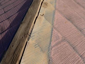 古い貫板撤去