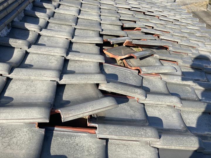 屋根の状態