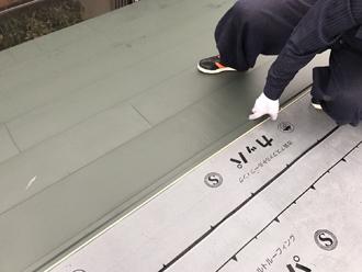 新規屋根材設置2