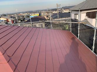 17.屋根塗装後