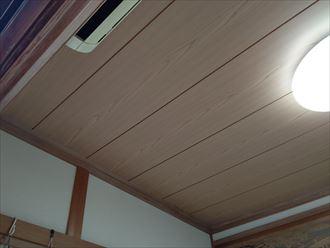 天井張替工事完了